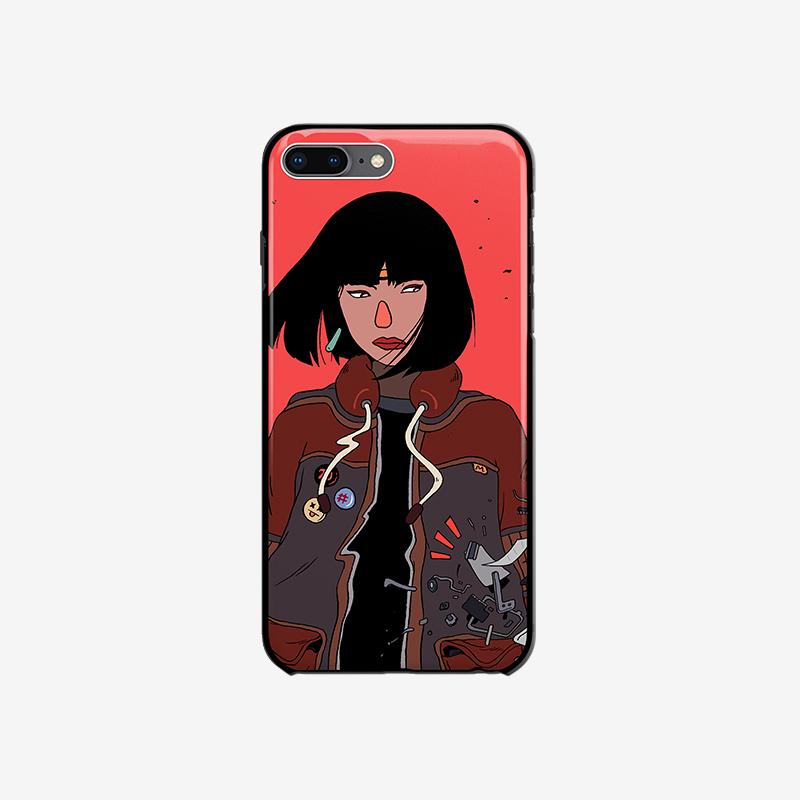 定制苹果手机壳【玻璃壳】iPhone系列