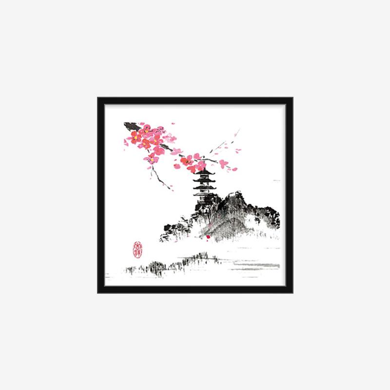 DIY定制装饰画中国风