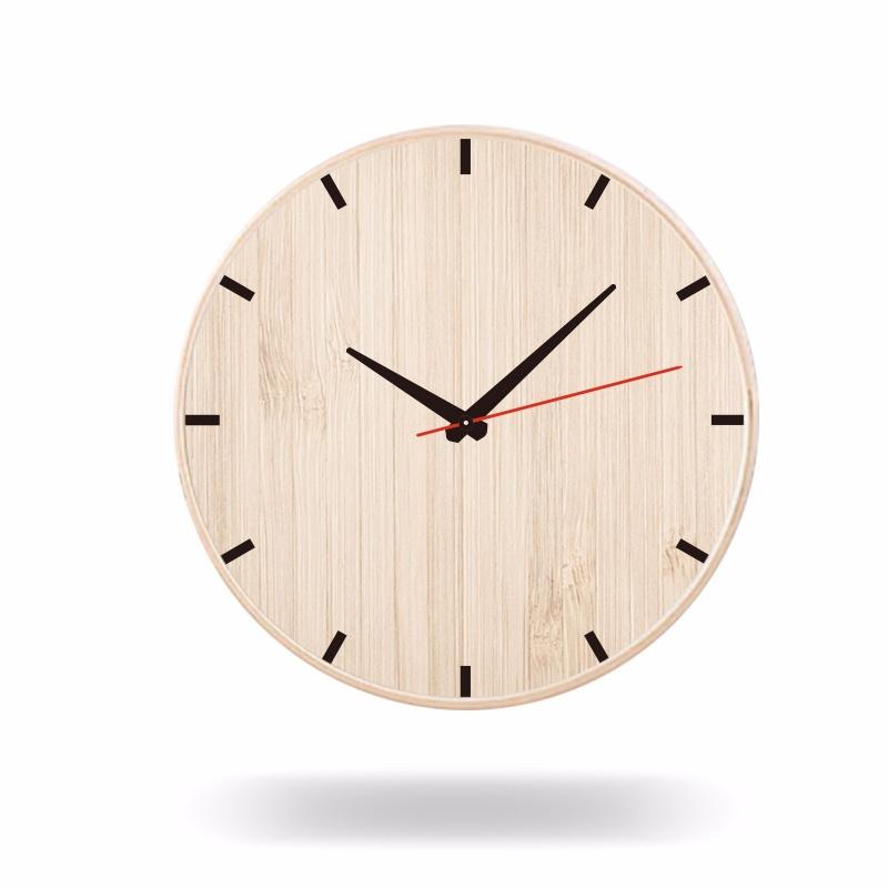 DIY定制挂钟木质