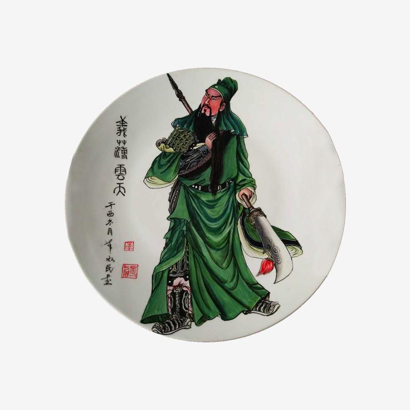 【DIY定制】瓷盘画【李如民 手绘】