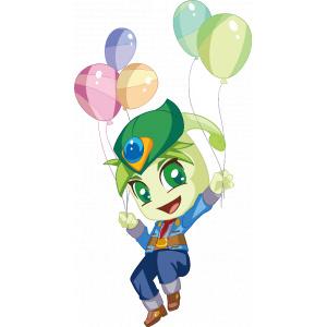 木奇灵-芽力气球