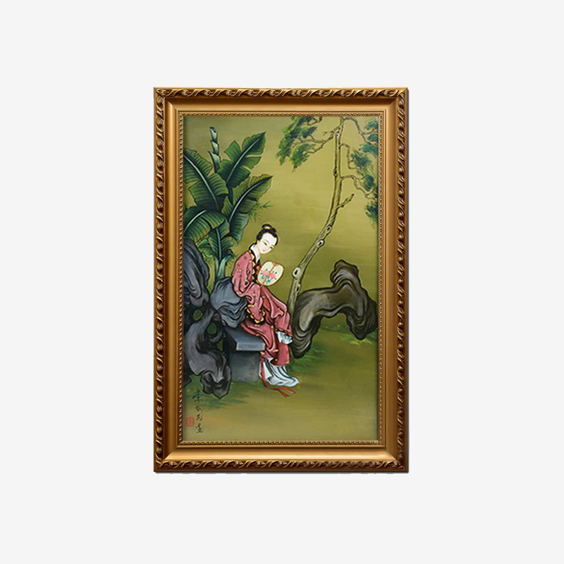 定制装饰画李如民手绘