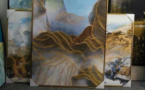 3d浮雕装饰画过程,3d浮雕装饰画注意事项