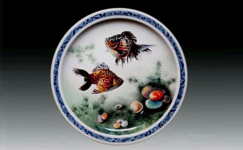 企业定做瓷盘画有什么特点 如何定制瓷盘画