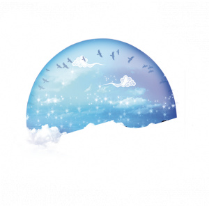 七夕-蓝月
