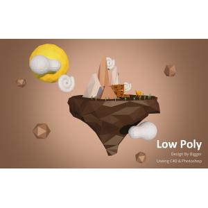 low poly 以梦为马