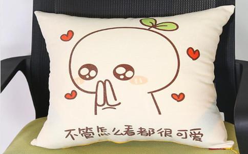 定做logo抱枕制作流程,个性diy抱枕怎么做