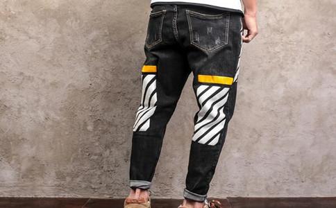 哪里可以裤装绣字,定制牛仔裤平台哪家好