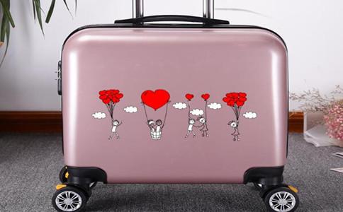 哪里可以定制浮雕旅行箱,个性行李箱定制平台哪家好