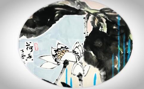 个性创意瓷盘画写什么字好,制作个性瓷盘画内容推荐