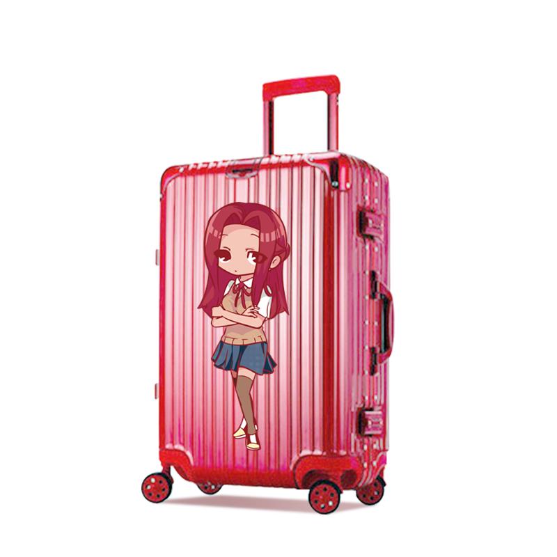 个性定制行李箱【复古铝框款】