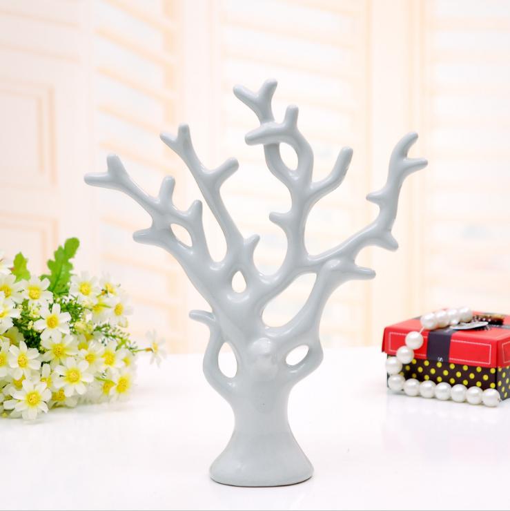 爱情发财树时尚结婚礼物 家居装饰品/陶瓷工艺品摆件/创意