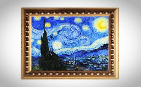 创意装饰画手工制作流程,油画浮雕diy教程