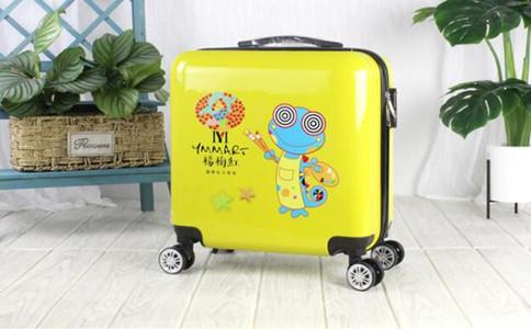 手绘创意行李箱,行李箱创意构想