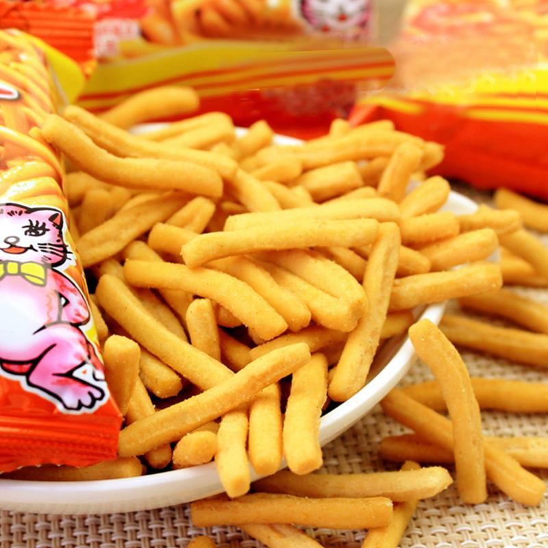 爱尚咪咪虾条18g*40包 怀旧好吃膨化零食大礼包网红零食