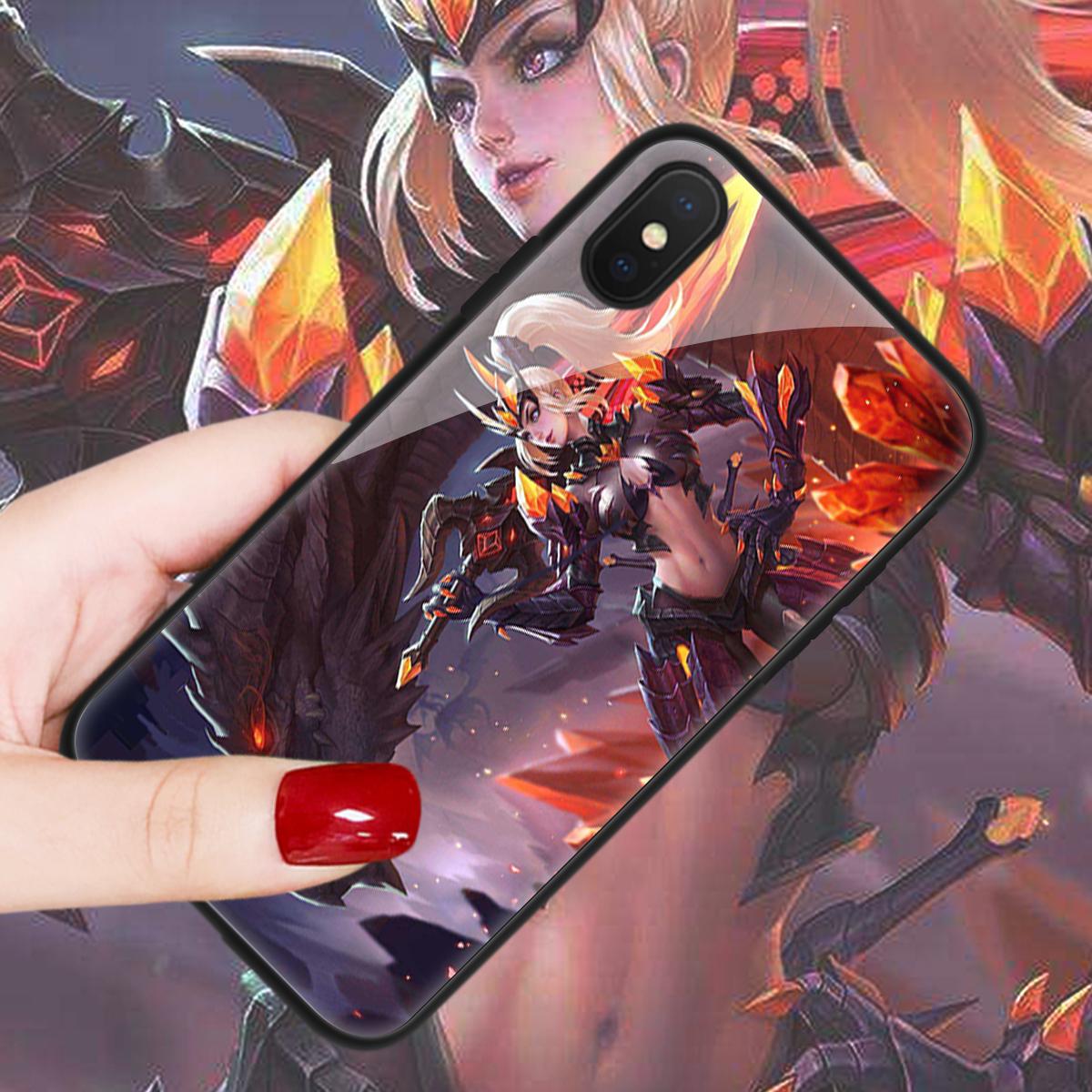 王者荣耀iPhone系列手机壳可来图DIY定制