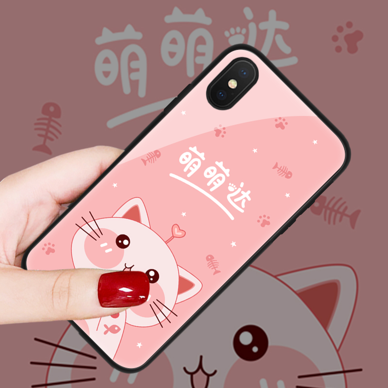 vivo 华为 iPhone 三星 oppo 小米系列手机壳 玻璃壳