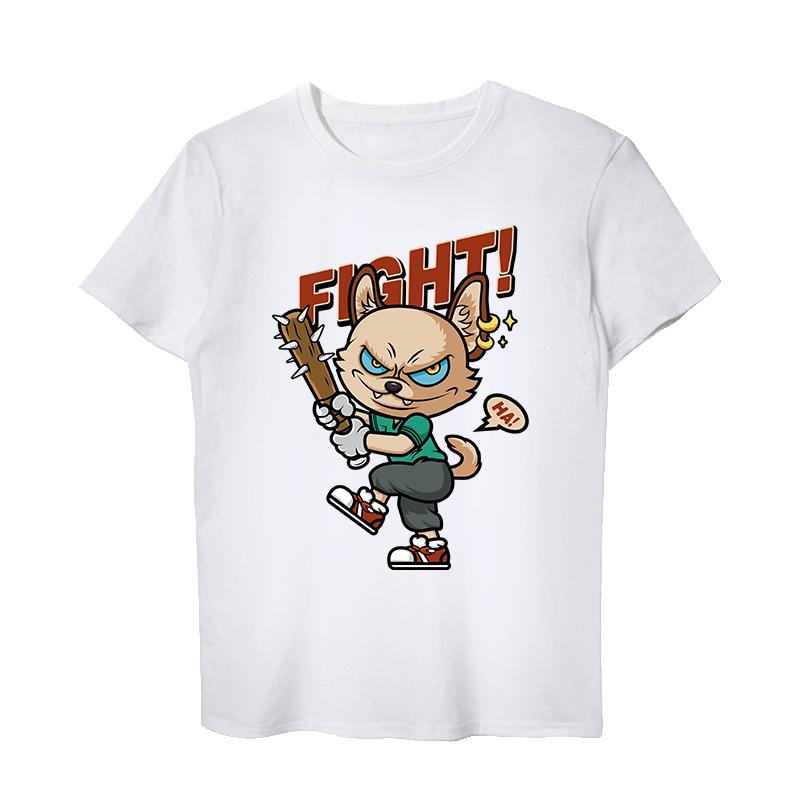 定制 T恤男士 短袖DIY个性创意定制