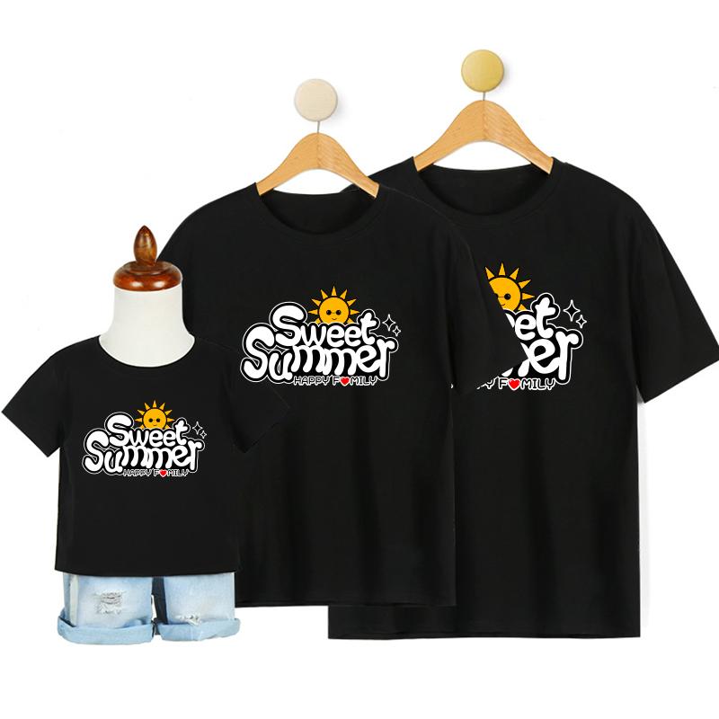 定制 亲子款 T恤DIY个性创意定制