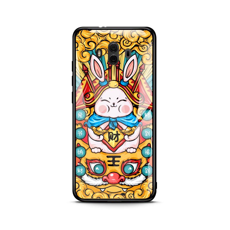 【定派】华为系列玻璃手机壳29元