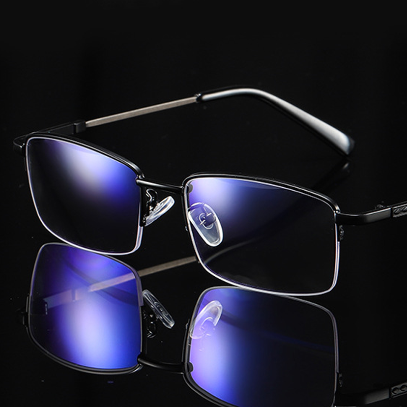 【定派】超轻智能变焦渐进多焦点防蓝光老花眼镜