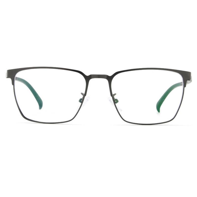 【酷定吧】0003 轻盈合金  商务休闲男士近视眼镜定制(含黛玛诗镜片)