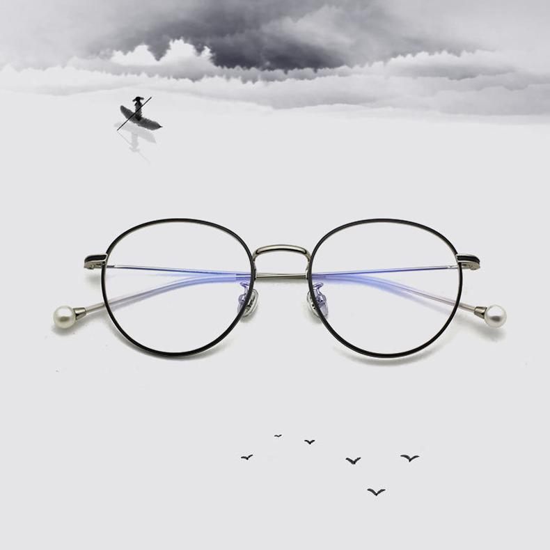 【定派】近视复古时尚圆形眼镜定制