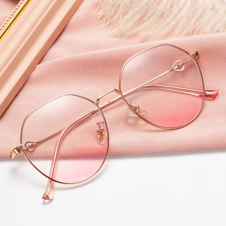 【定派】近视圆形简约金属眼镜定制