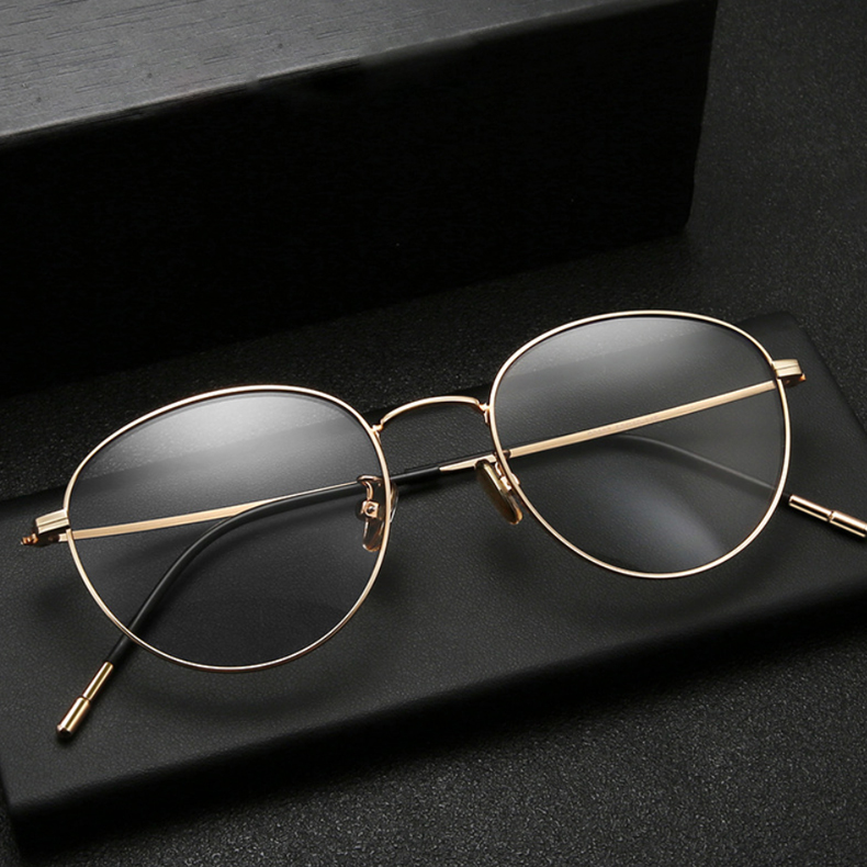 【酷定吧】近视轻薄纯钛镜架眼镜定制