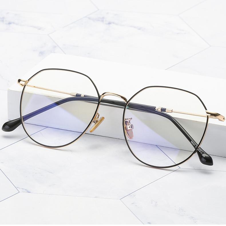 【定派】近视清新文艺金属金属镜框眼镜定制