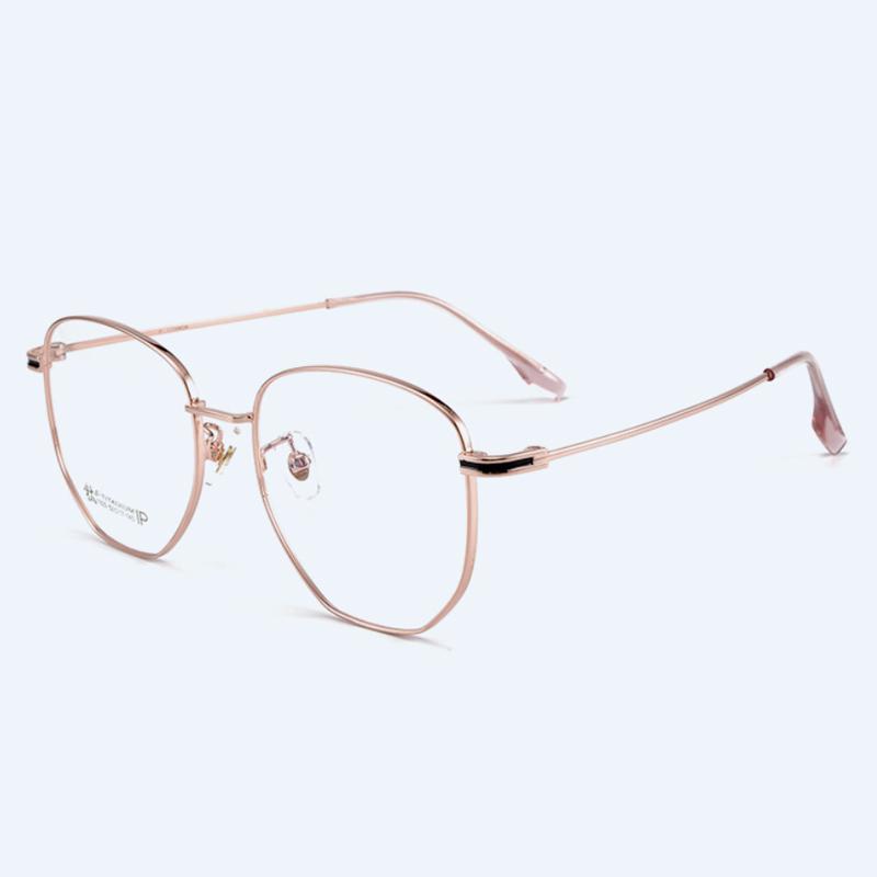 【酷定吧】渐进多焦点老花β钛架眼镜定制0060