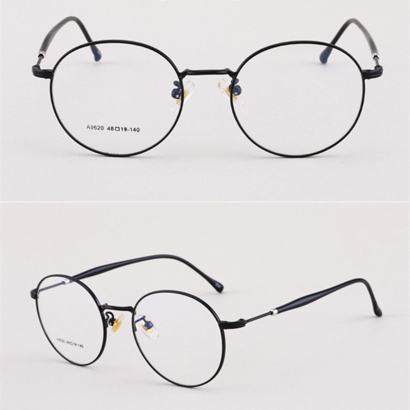 【酷定吧】0029 金属圆框渐进多焦点老花眼镜定制