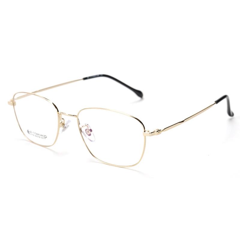 【酷定吧】0074  豪华B钛合金渐进多焦点老花眼镜定制