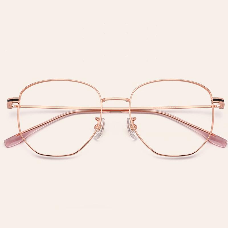 【酷定吧】0060 豪华B钛近视眼镜定制 (含飞视镜片)