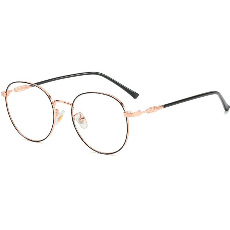 【酷定吧】0085 复古金属眼镜定制 (蔡司A系列®单光镜片)