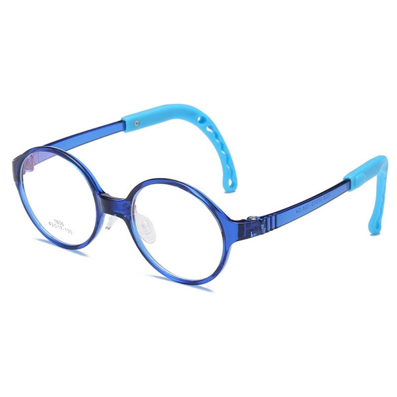 【酷定吧】儿童防蓝光圆框眼镜定制(含镜片)T018