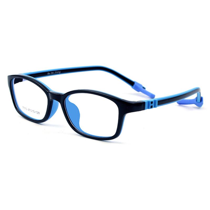 【酷定吧】儿童防蓝光硅胶防滑眼镜定制(含镜片)T019