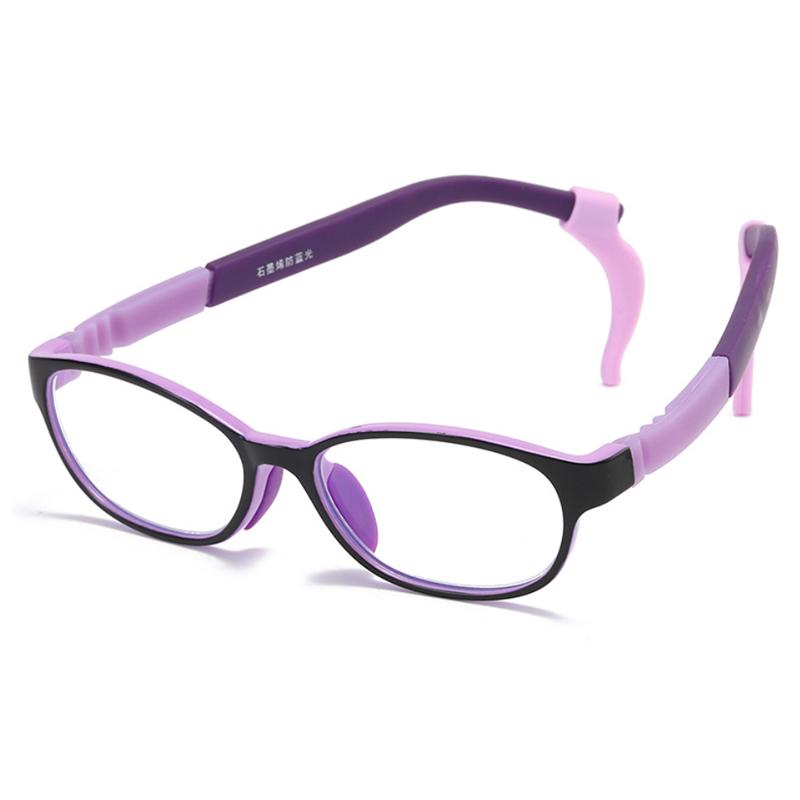 【酷定吧】儿童防蓝光石墨烯负离子眼镜定制(含镜片)T030