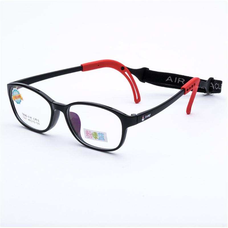 【酷定吧】儿童防蓝光可调节镜腿眼镜定制(含镜片)T031