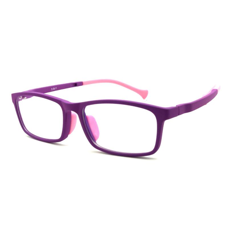 【酷定吧】儿童防蓝光舒适硅胶眼镜定制(含镜片)T032