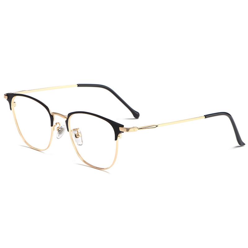 【酷定吧】0109  超轻合金 圆框平光眼镜(含镜片)