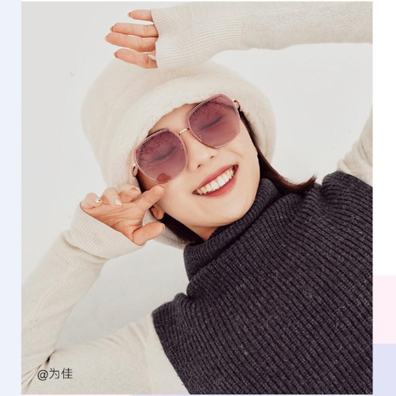 派丽蒙2020新款墨镜女大脸显瘦大框韩版潮太阳镜女防紫外线网红圆脸眼镜