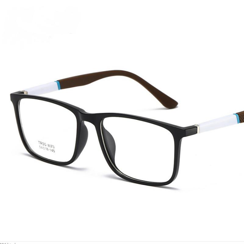 【酷定吧】0142 超轻TR90 复古近视眼镜定制(含非球面品牌树脂镜片)