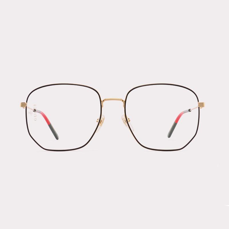 【酷定吧】0156 GUCCI古驰男女时尚大框近视眼镜定制(送黛玛诗1.61防蓝光超发水膜镜片)(品牌正品,非质量问题,不接受退换货)