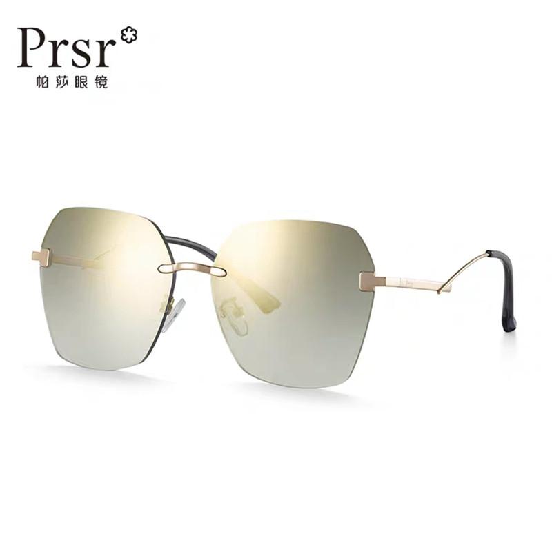 【帕莎】时尚太阳镜复古简约大框女士墨镜潮尼龙金属眼镜