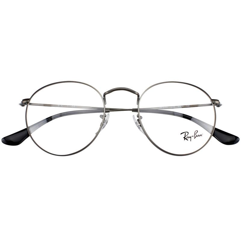 【酷定吧】RayBan雷朋复古男女金属古典文艺圆框近视眼镜定制RB6418D(送黛玛诗超发水膜防蓝光镜片)