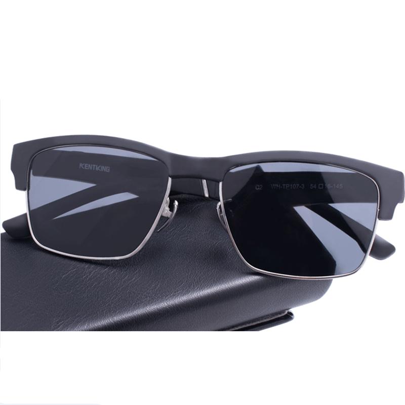 【酷定吧】通话眼镜K1K2KX智能蓝牙眼镜防蓝光偏光蓝牙音乐半开放式太阳眼镜